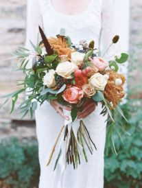 Rustic-Boho-Fall-Wedding-Bouquet